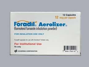 Foradil Aerolizer 12 mcg capsule with inhalation device