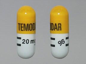 Temodar 20 mg capsule