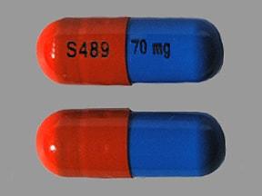 Vyvanse 70 mg capsule