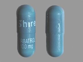 Carbatrol 100 mg capsule, extended release
