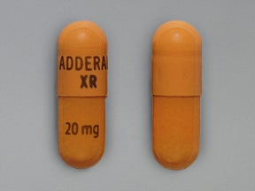 Adderall XR 20 mg capsule,extended release