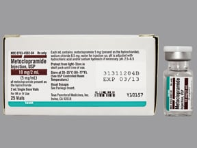 metoclopramide 5 mg/mL injection solution