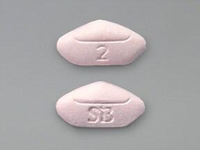 Avandia 2 mg tablet