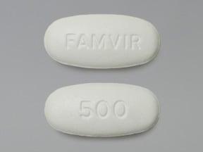 Famvir 500 mg tablet