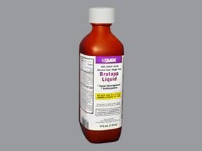 Brotapp 1 mg-15 mg/5 mL oral liquid