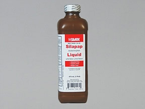 Children's Silapap 160 mg/5 mL oral liquid
