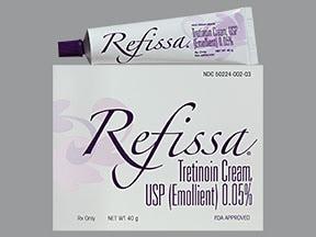 Refissa 0.05 % topical cream