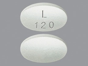 Latuda 120 mg tablet