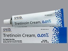 tretinoin 0.05 % topical cream