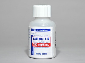 how to make amoxicillin suspension