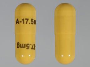 Soriatane 17.5 mg capsule