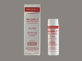 Melquin 3 3 % topical solution