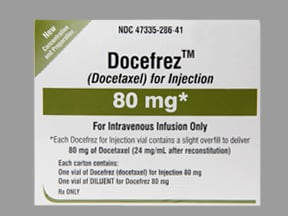Docefrez 80 mg intravenous solution