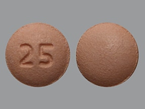 quetiapine 25 mg tablet
