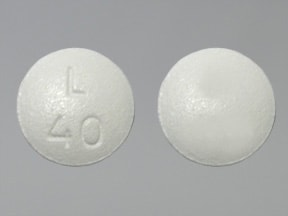 Latuda 40 mg tablet