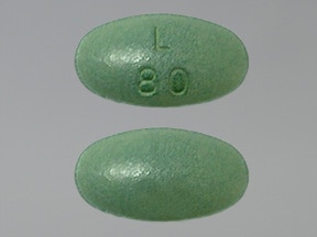 Latuda 80 mg tablet
