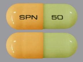 Trokendi XR 50 mg capsule, extended release