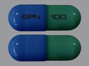 Trokendi XR 100 mg capsule, extended release