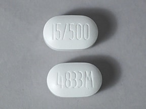 Actoplus MET 15 mg-500 mg tablet