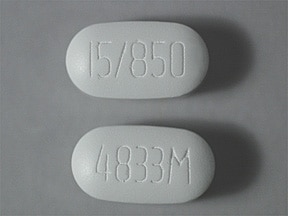 Actoplus MET 15 mg-850 mg tablet