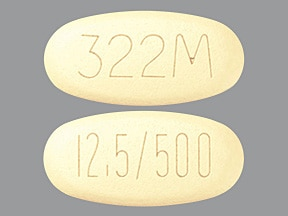 Kazano 12.5 mg-500 mg tablet