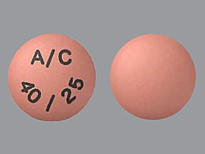 Edarbyclor 40 mg-25 mg tablet