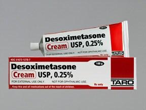 desoximetasone 0.25 % topical cream