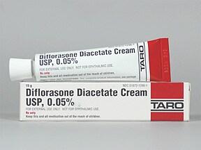 diflorasone 0.05 % topical cream