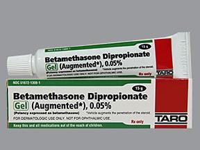 betamethasone, augmented 0.05 % topical gel