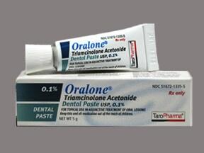 Oralone 0.1 % dental paste