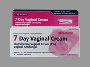 clotrimazole 1 % vaginal cream