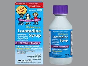loratadine 5 mg/5 mL oral solution