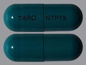nortriptyline 75 mg capsule