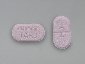 warfarin 2 mg tablet