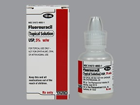 fluorouracil 5 % topical solution