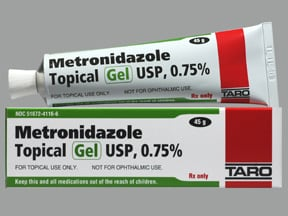 metronidazole 0.75 % topical gel