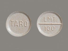 lamotrigine 100 mg tablet
