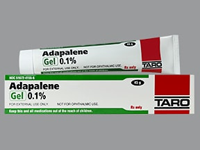 adapalene 0.1 % topical gel