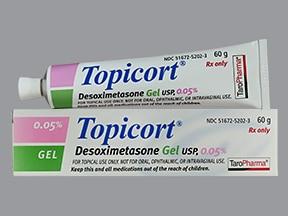 Topicort 0.05 % topical gel