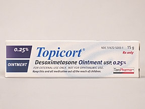 Topicort 0.25 % topical ointment