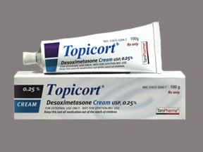 Topicort 0.25 % topical cream