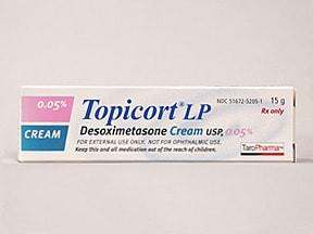 Topicort 0.05 % topical cream