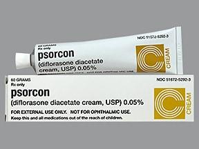 Psorcon 0.05 % topical cream