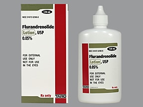 flurandrenolide 0.05 % lotion