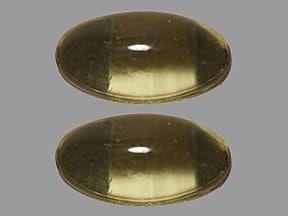 Vitamin D3 2,000 unit capsule