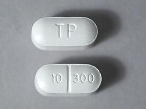 Xodol 10/300 10 mg-300 mg tablet