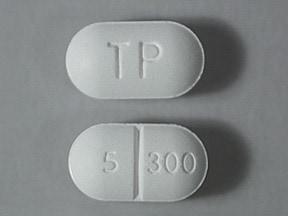 Xodol 5/300 5 mg-300 mg tablet