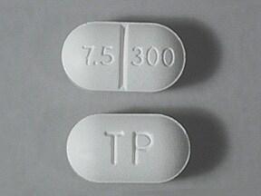 Xodol 7.5/300 7.5 mg-300 mg tablet