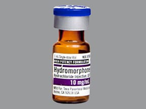 hydromorphone (PF) 10 mg/mL injection solution