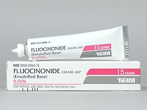 Fluocinonide-E 0.05 % topical cream